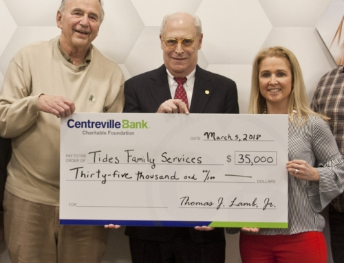 Centreville Bank Charitable Foundation Grants $35KTo Tides Family Services